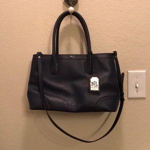 Lauren Ralph Lauren navy purse